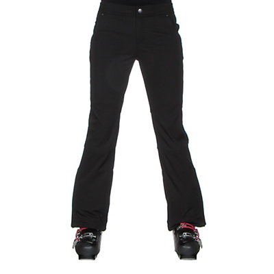 Obermeyer Angel Womens Ski Pants, Black, viewer