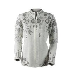 Obermeyer Chalet Knit Cardigan Womens Sweater, White, 256