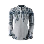 Obermeyer Chalet Knit Cardigan Womens Sweater, Ceramic, medium