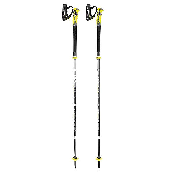Leki Alpine Stick S Vario Carbon Ski Poles 2017, , 600