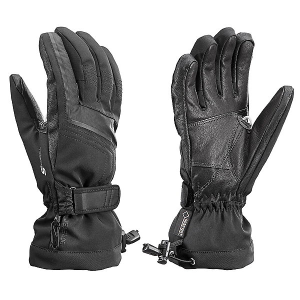 Leki Curve S GTX Lady Womens Gloves, Black, 600