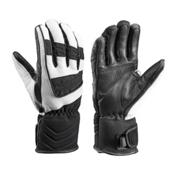 Leki Griffin S Lady Womens Gloves, Black-White, medium