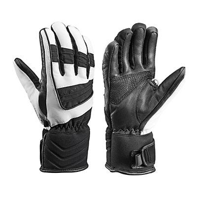 Leki Griffin S Lady Womens Gloves, Black-White, viewer