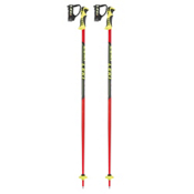 Leki Word Cup Lite SL Ski Poles 2017, Black-Red, medium