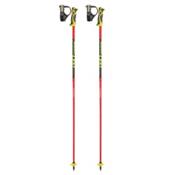 Leki Venom SL Ski Poles 2017, Black-Red, medium