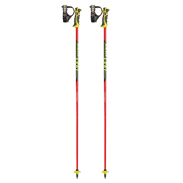 Leki Venom SL Ski Poles 2017, Black-Red, 600