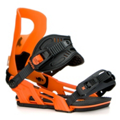Bent Metal Logic Snowboard Bindings 2017, Orange, medium