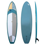 Boardworks Surf Kraken 11ft Stand Up Paddleboard 2016, Wood-Steel Blue, medium