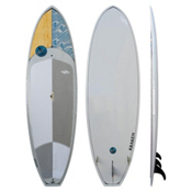 Boardworks Surf Kraken 11ft Stand Up Paddleboard 2016, Wood-Light Grey, medium