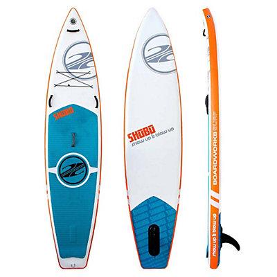 Boardworks Surf SHUBU X-Rocket Inflatable Stand Up Paddleboard 2016, White-Orange, viewer