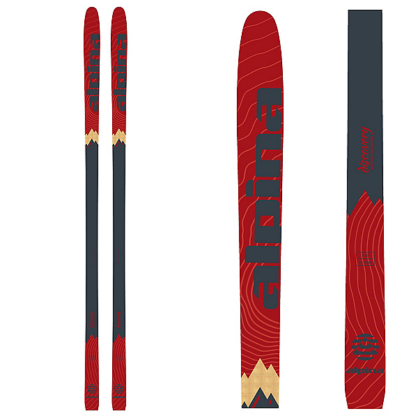 Alpina Discovery 80 Cross Country Skis, , 600