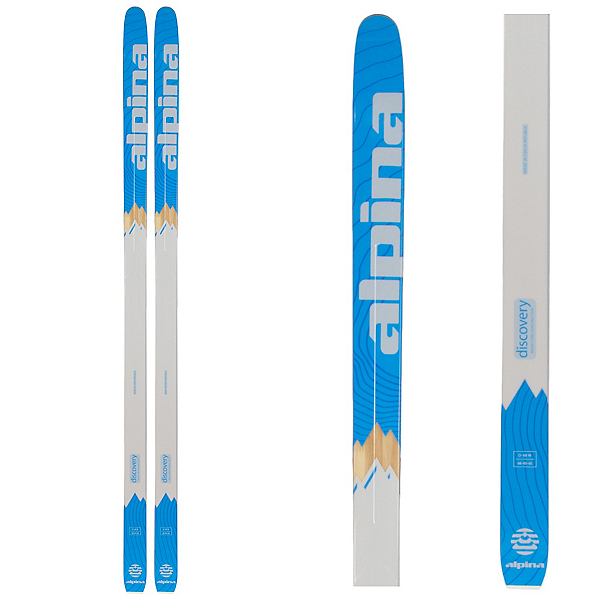 Alpina Discovery 68 W Cross Country Skis, Blue, 600