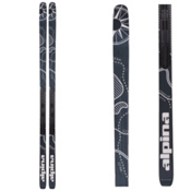 Alpina Control 64 Edge NIS Cross Country Skis, Black-White, medium
