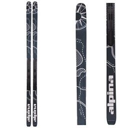 Alpina Control 64 Edge NIS Cross Country Skis, Black-White, 256