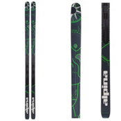 Alpina Control 64 NIS Cross Country Skis, Green, medium