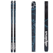 Alpina Control 64 W NIS Cross Country Skis, Blue, medium