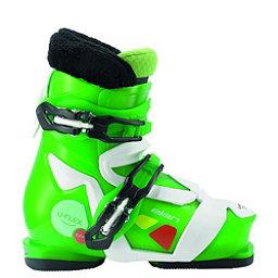 Elan Ezyy 2 Kids Ski Boots 2017, Green, 256