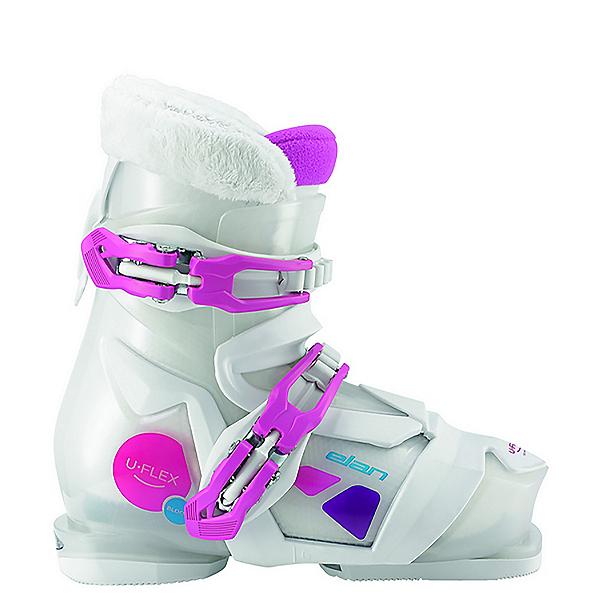 Elan Bloom 2 Girls Ski Boots 2017, White-Pink, 600