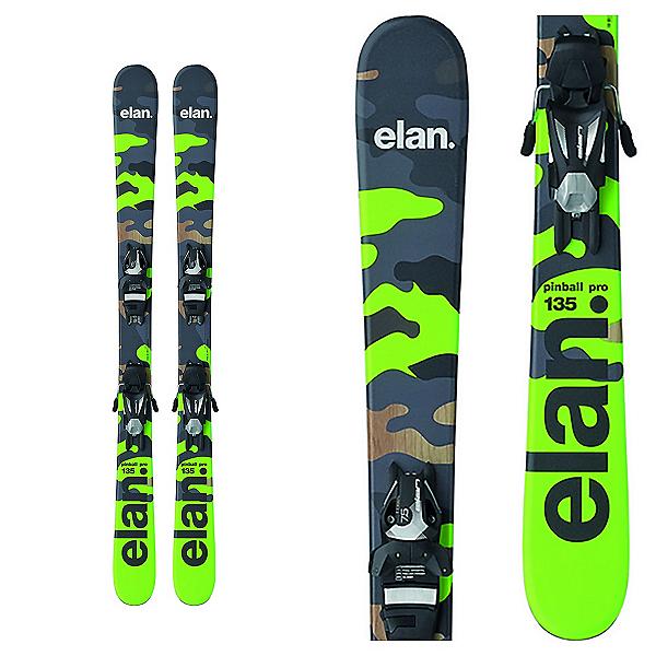 Elan Pinball Pro Kids Skis with EL 7.5 Bindings 2017, , 600
