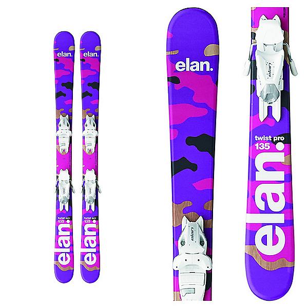 Elan Twist Pro Kids Skis with EL 7.5 Bindings, , 600