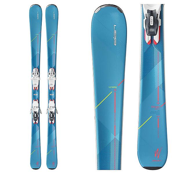 Elan Delight Supreme Womens Skis with ELW 10.0 Bindings 2017, , 600
