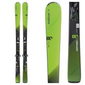 Elan Amphibio 80Ti Skis with ELS 11.0 Bindings 2017, , medium