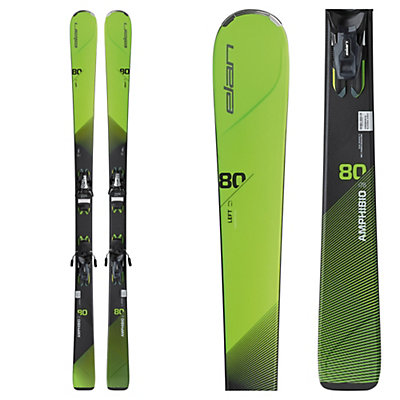 Elan Amphibio 80Ti Skis with ELS 11.0 Bindings 2017, , viewer