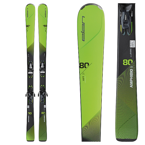 Elan Amphibio 80Ti Skis with ELS 11.0 Bindings, , 600