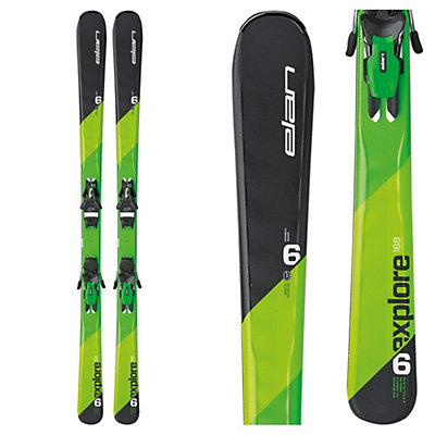 Elan Explore 6 Skis with EL 10.0 Bindings 2017, , viewer