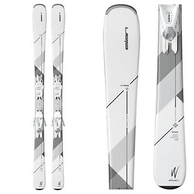 Elan Snow Womens Skis with EL 7.5 Bindings 2017, , viewer