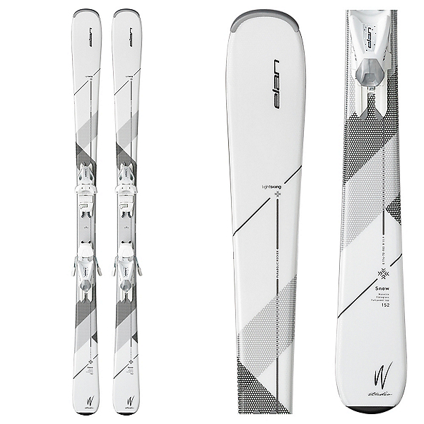 Elan Snow Womens Skis with EL 7.5 Bindings 2017, , 600