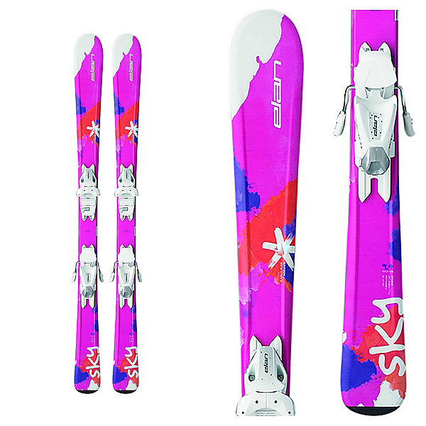 Elan Sky Kids Skis with EL 7.5 Bindings, , 600