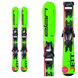Elan Jett Kids Skis with EL 4.5 Bindings 2017, , 256