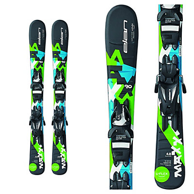 Elan Maxx Kids Skis with EL 4.5 Bindings 2017, , viewer