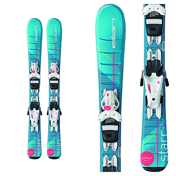 Elan Starr Kids Skis with EL 4.5 Bindings 2017, , 600
