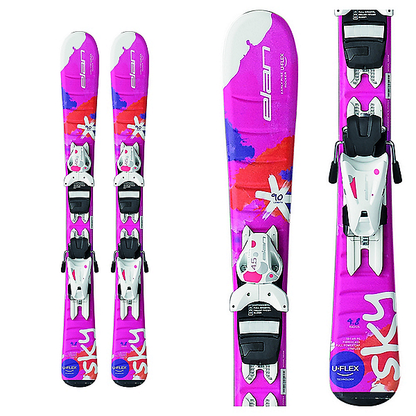 Elan Sky Kids Skis with EL 4.5 Bindings 2017, , 600