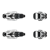 Atomic Warden 11 Ski Bindings 2017, Gun Metal-White, medium
