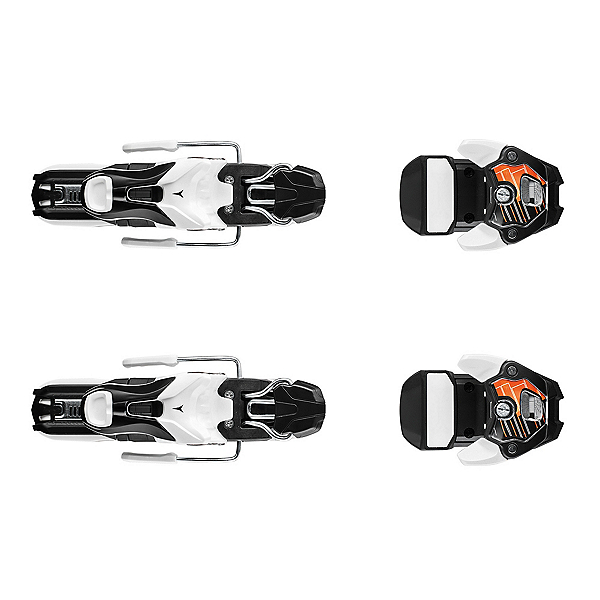 Atomic Warden 11 Ski Bindings, Black-Orange, 600