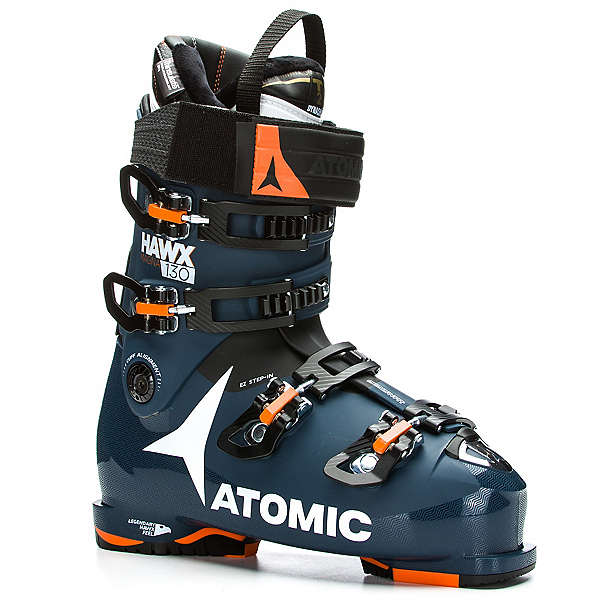 Atomic Hawx Magna 130 Ski Boots 2017, Dark Blue-Black-Orange, 600