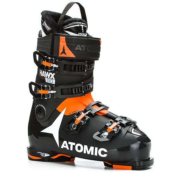 Atomic Hawx Magna 110 Ski Boots, Black-Orange, 600