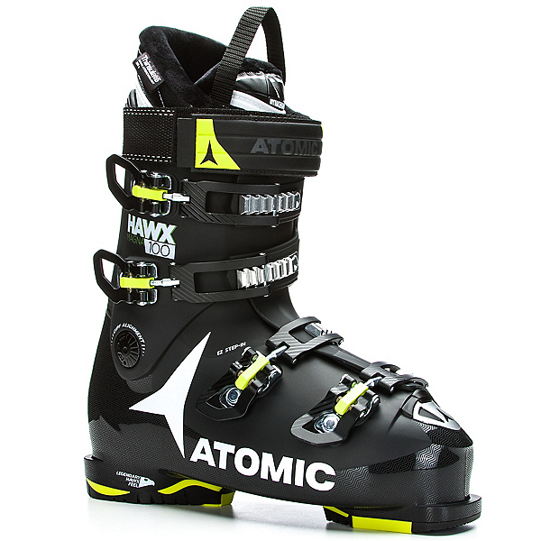 Atomic Hawx Magna 100 Ski Boots 2018, Black-Lime, 600
