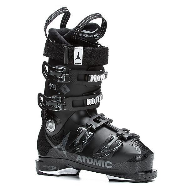 Atomic Hawx Ultra 80 W Womens Ski Boots 2018, Black-Anthracite, 600