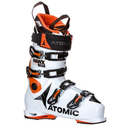 Atomic Hawx Ultra 130 Ski Boots 2018, White-Orange-Black, 256