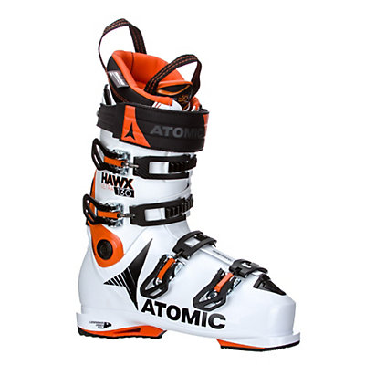 Atomic Hawx Ultra 130 Ski Boots 2017, White-Orange-Black, viewer