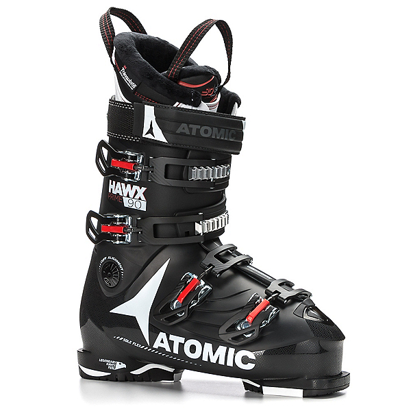 Atomic Hawx Prime 90 Ski Boots 2018, Black-White-Red, 600