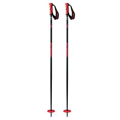 Atomic Powder Ski Poles 2017, Black, viewer