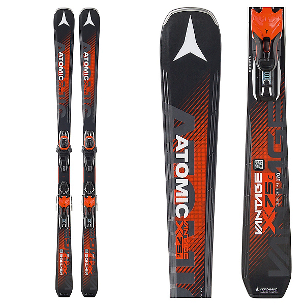 Atomic Vantage X 75 C Skis with Lithium 10 Bindings 2018, , 600