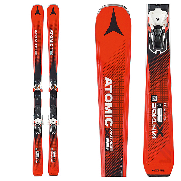 Atomic Vantage X 83CTI Skis with Warden 13 Bindings 2017, , 600