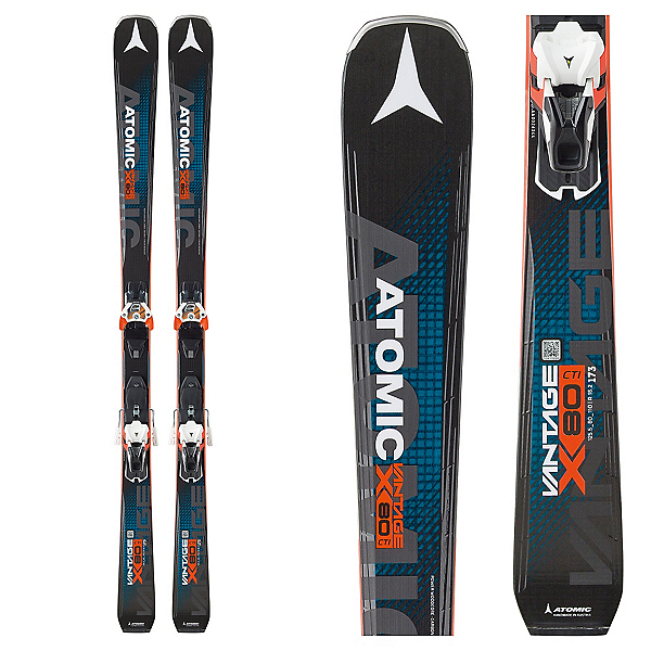 Atomic Vantage X 80 CTI Skis with Warden 13 Bindings 2017, , 600