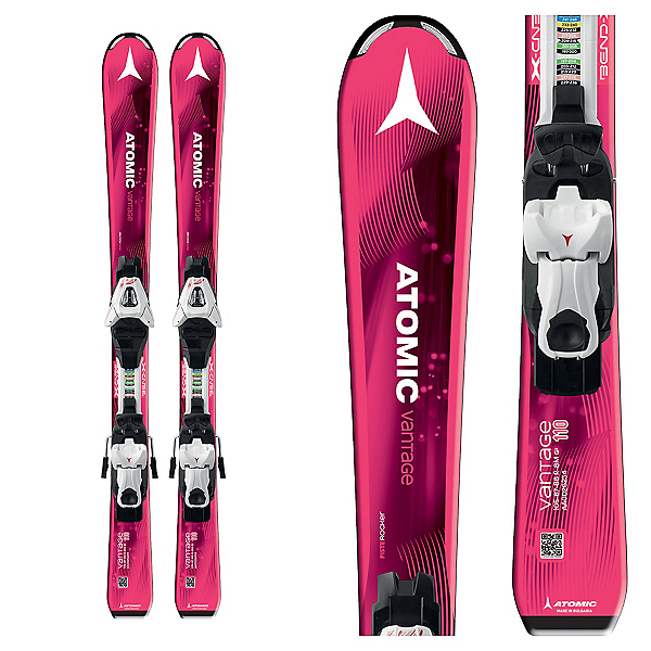 Atomic Vantage Girl II Kids Skis with EZY 5 Bindings 2017, , 600